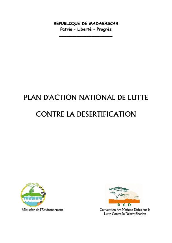 Madagascar_Plan D'action National de Lutte contre la Désertification 2003