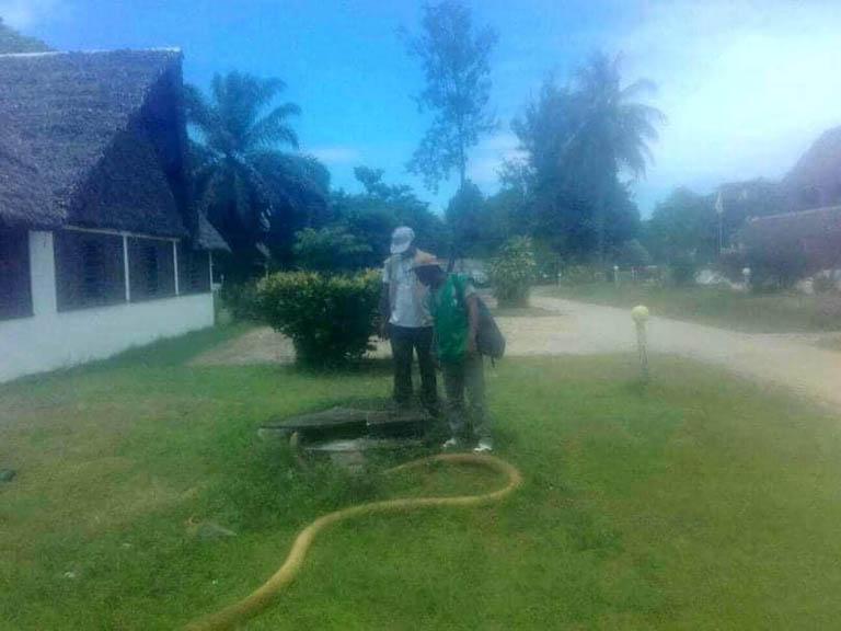 Contrôle strict des normes relatives au système d'évacuation et de Gestion d'eau des piscines à Foulpointe