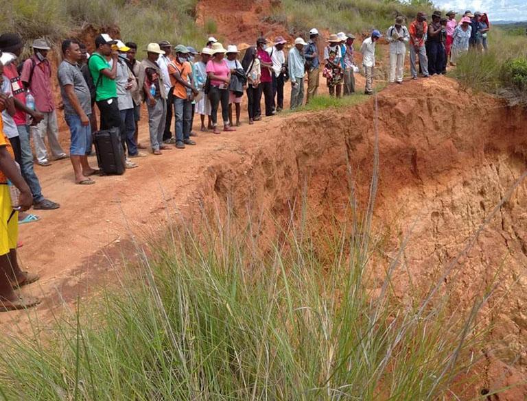 Bongolava: renforcement de compétences de compétences sur la protection des bassins versants