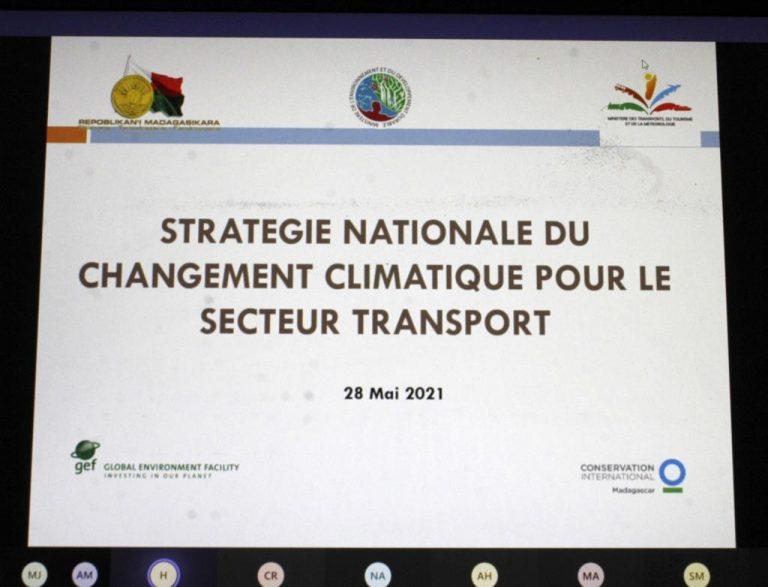 SECTEUR DU TRANSPORT : CONCEPTION DU DRAFT DE STRATEGIE NATIONALE POUR LE CHANGEMENT CLIMATIQUE