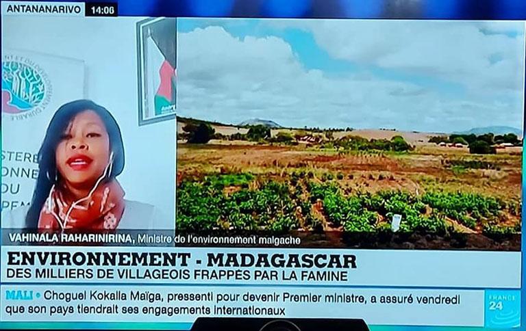 Durant son intervention sur la chaîne France 24, Madame la Ministre de l'Environnement et du Développement Durable a évoqué quatre grands points :