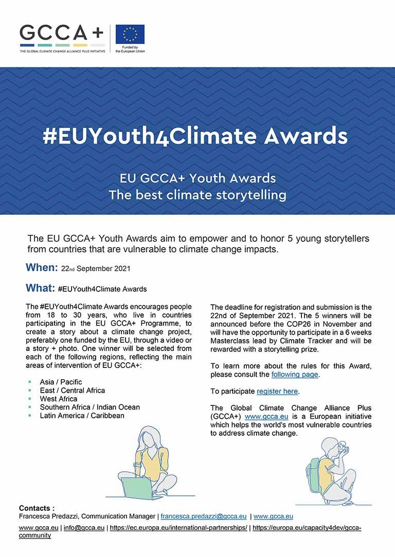 EU GCCA+ Youth Awards – Press release – EN
