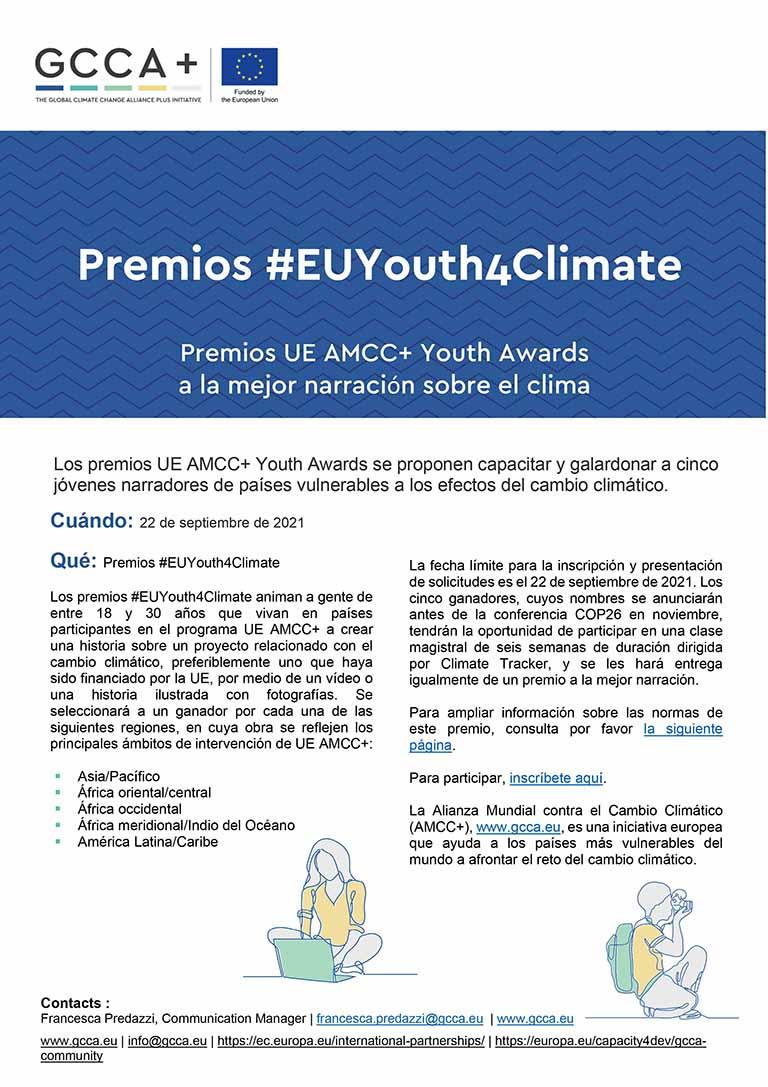 UE AMCC+ Youth Awards – Comunicado de prensa – ES